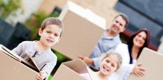 Szülők Háza Magazin, költözés, gyerek