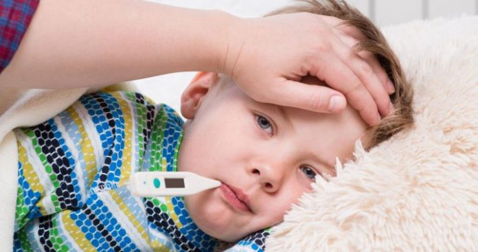 láz; gyerek; betegség